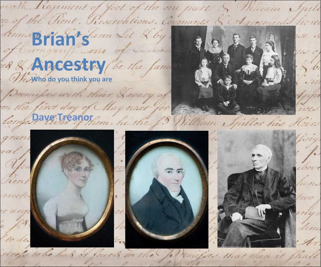 Ancestry Book page